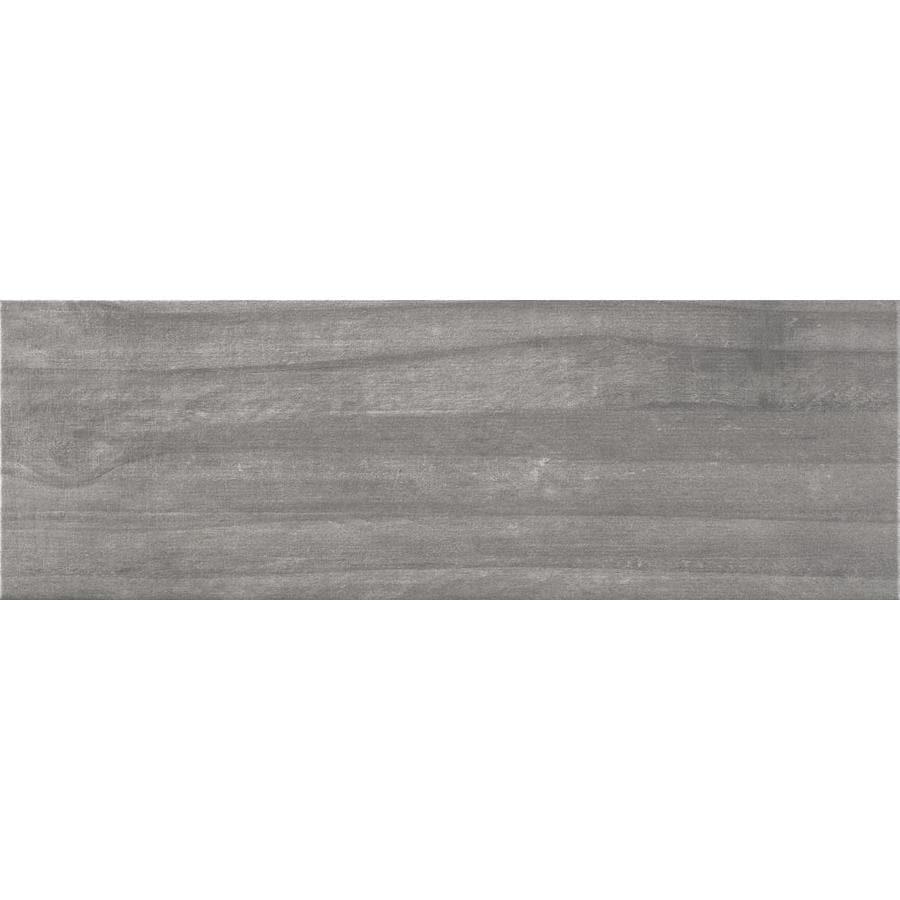 ceramicas tesany acadia grey gray 8 in x 24 in glazed ceramic wood look floor tile