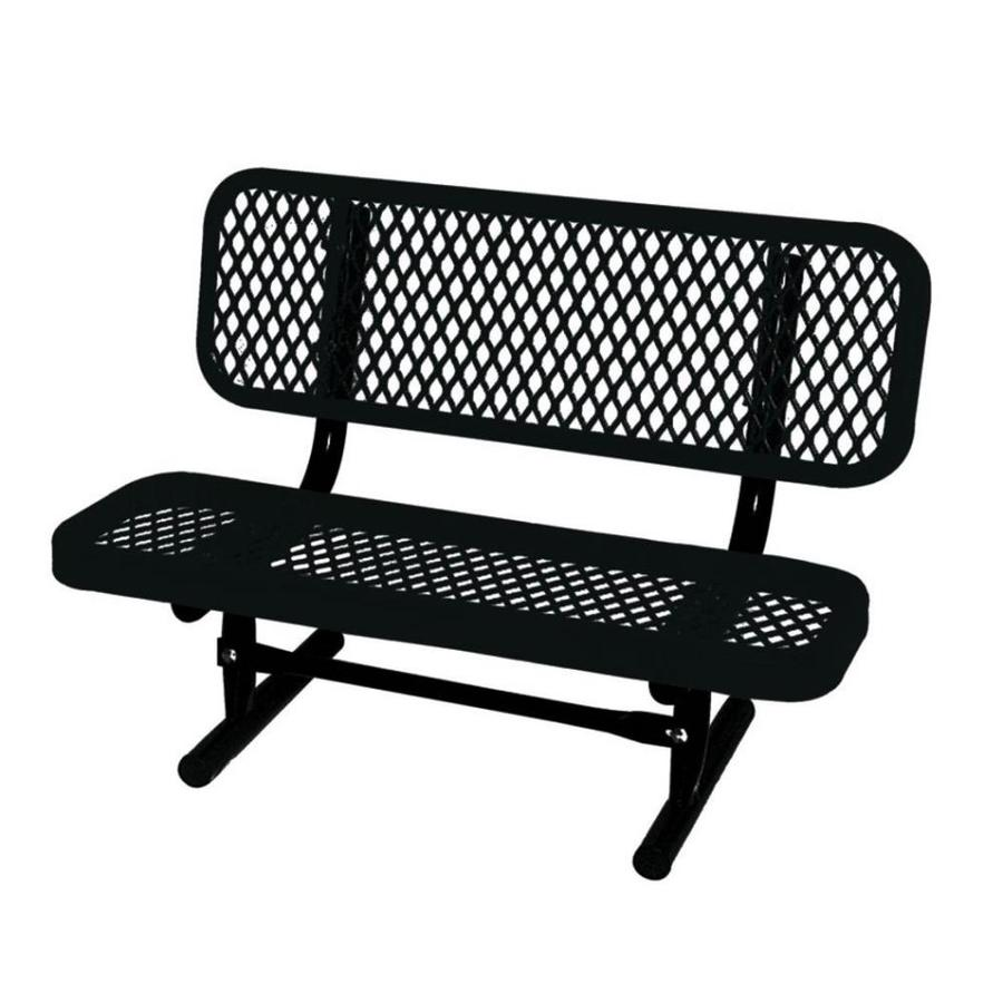 Ultra Play 36 In L Ultrasite Steel Bench At Lowes Com