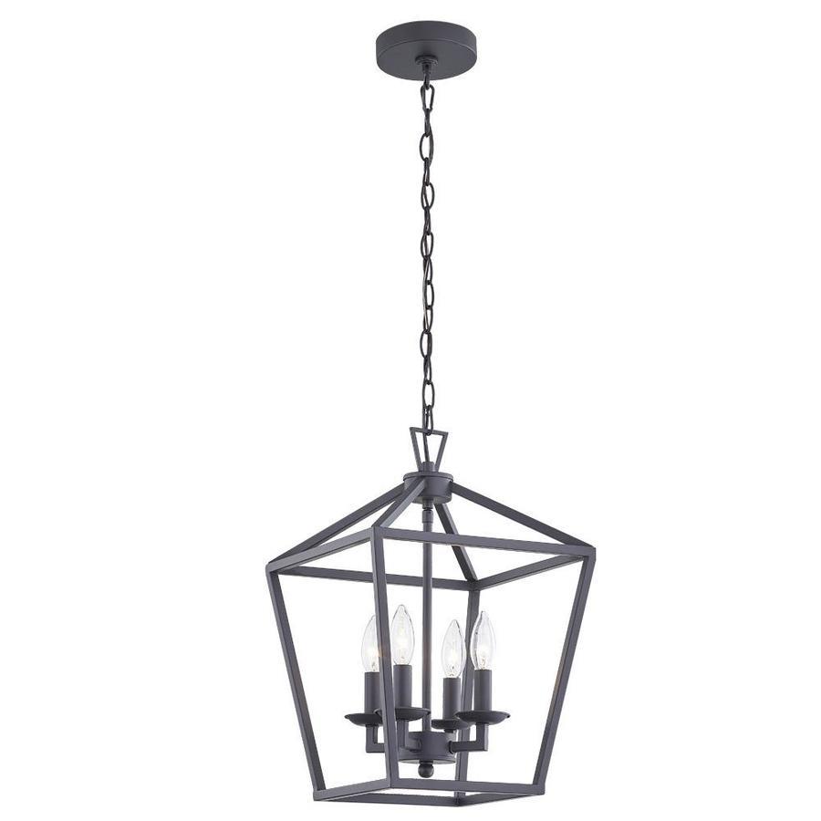 allen roth farmhouse lighting collection black farmhouse lantern mini pendant light lowes com