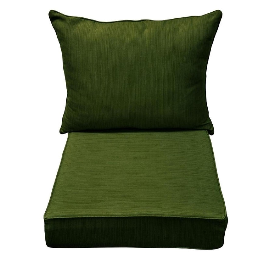 allen roth green deep seat patio chair cushion