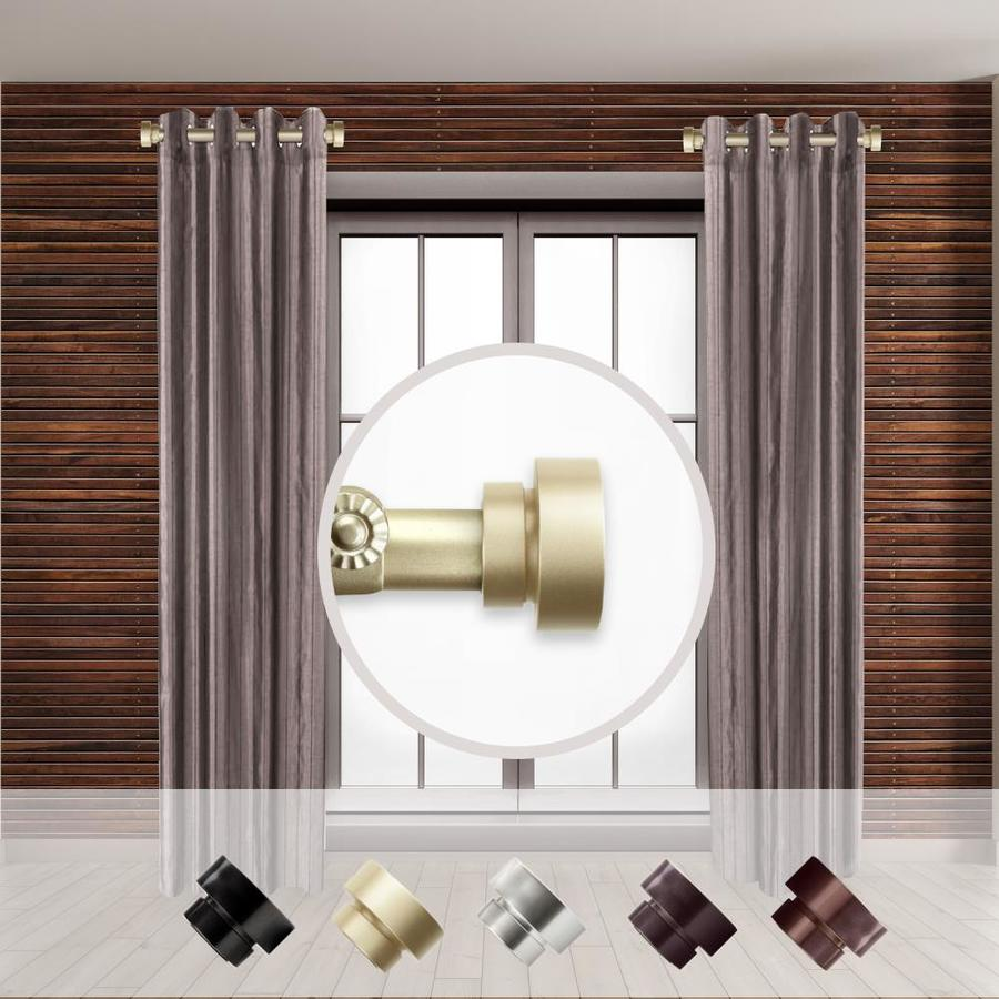 side curtain rod 1 in curtain rods at