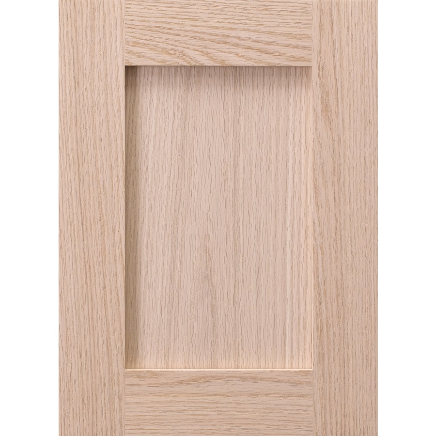 Surfaces Carlisle 11 In X 15 In Unfinished Oak Shaker