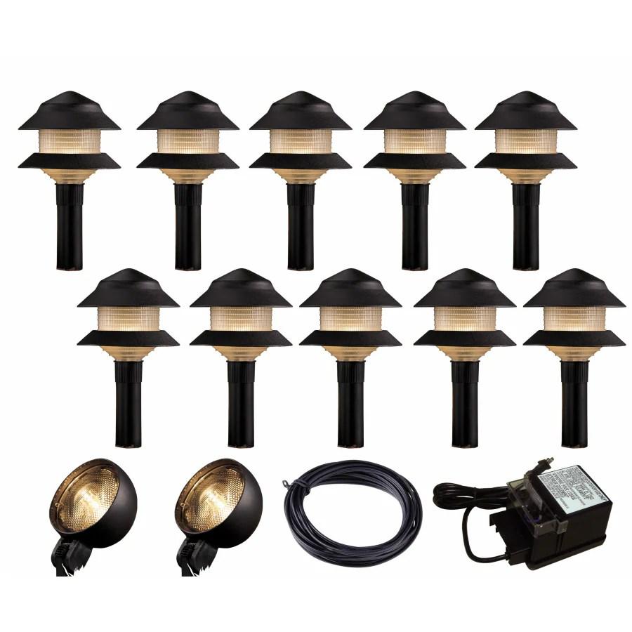 portfolio 13 low voltage incandescent landscape lighting