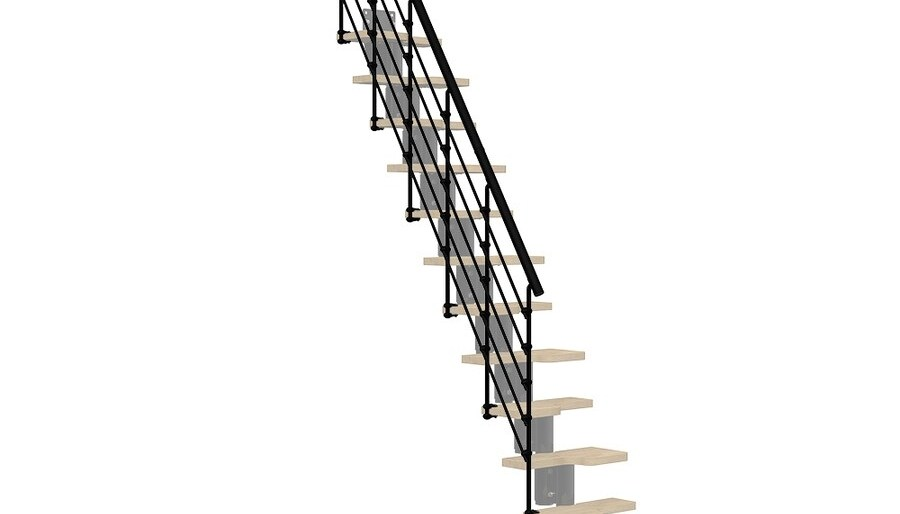 Stair Railing Stair Railing Kits At Lowes Com | Lowes Metal Stair Railing | Lowes Com | Aluminum Railing | Composite Deck Stair | Handrail Kit | Wood