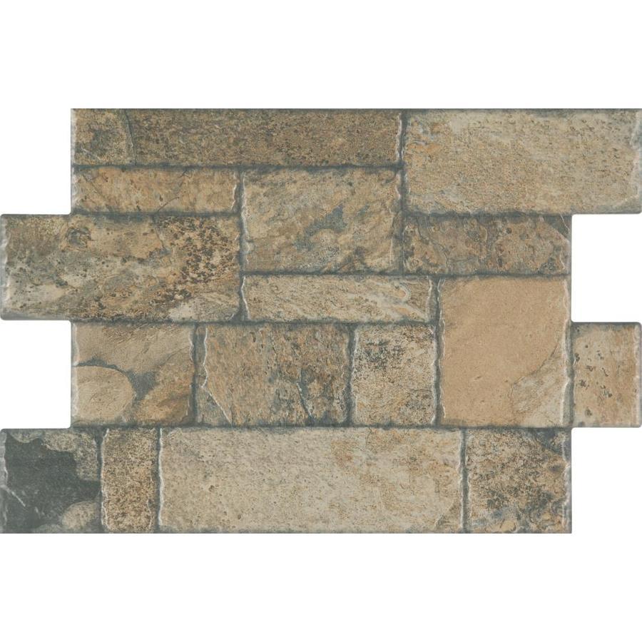 floors 2000 fiyord 6 pack olive 16 in x 24 in glazed porcelain brick look floor tile