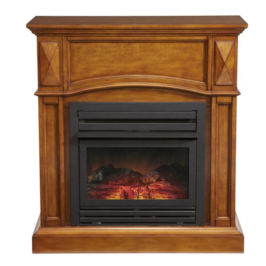 title | Corner Gas Fireplace