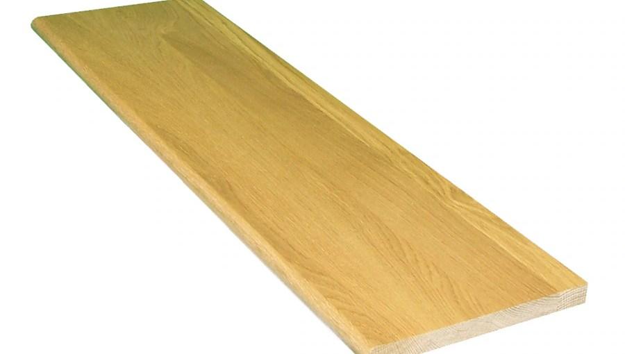 Shop Stairtek 11 5 In X 36 In Natural Prefinished Oak Wood | 36 Inch Oak Stair Treads