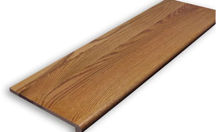 Stairtek Stairtek Retrotread 11 5 In X 36 In Gunstock Prefinished | Wood Stair Treads Lowes | Outdoor Stair | Deck | Stair Stringer | Handrail | Flooring