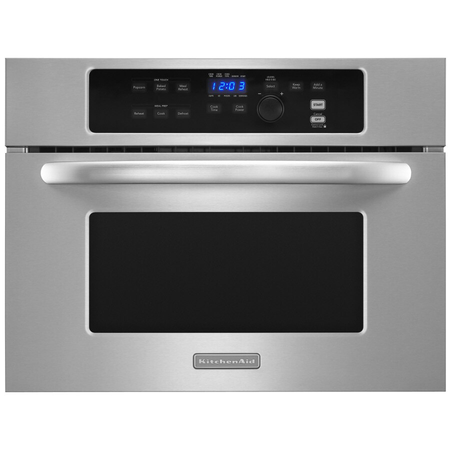 kitchenaid 24 stainless steel built in