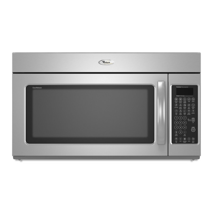 whirlpool gold 1 8 cu ft over the range convection microwave color stainless steel