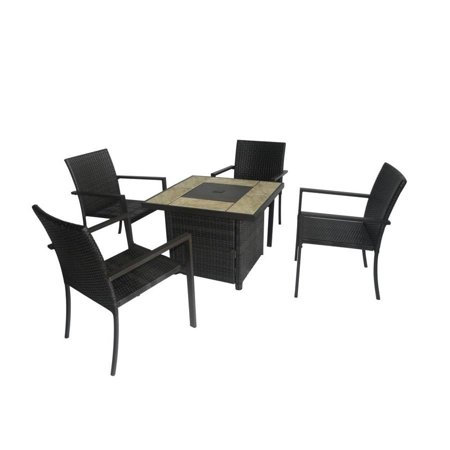 Bali Steel Frame Patio Conversation Set