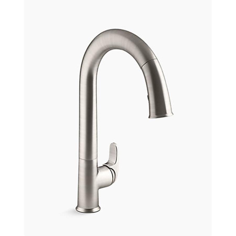 https www lowes com pd kohler sensate kitchen faucet with kohler konnect and voice activated technology 1002987064