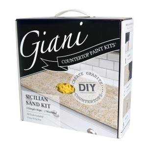 Giani Countertop Transformations Sicilian Sand High Gloss Resurfacing Kit Actual Net Contents 46 Fl Oz At Lowes