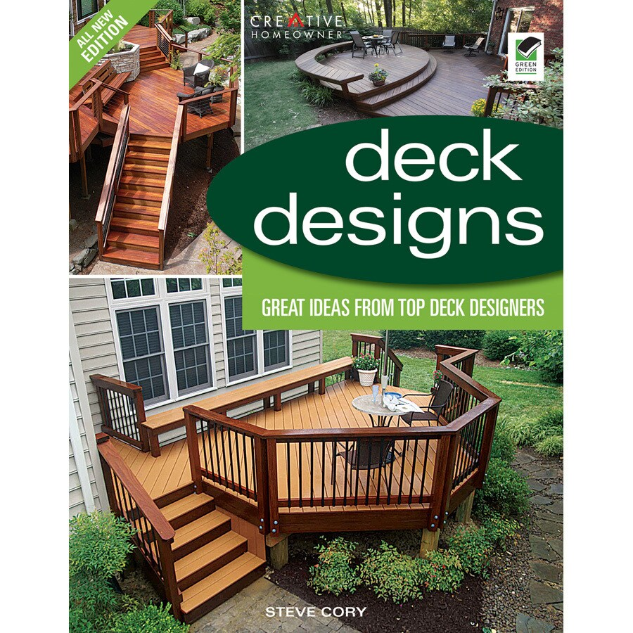 Home Design Alternatives Deck Designs (3rd Edition) at ... on Lowes Patio Design id=30382