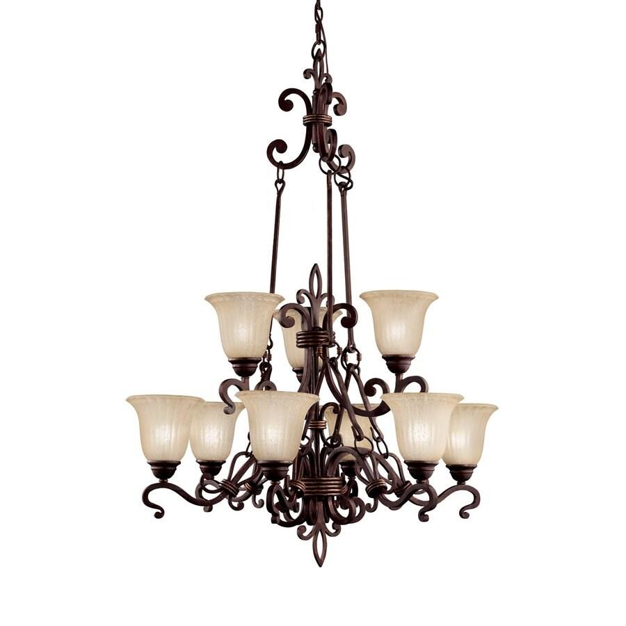 kichler lighting wilton 9 light carre