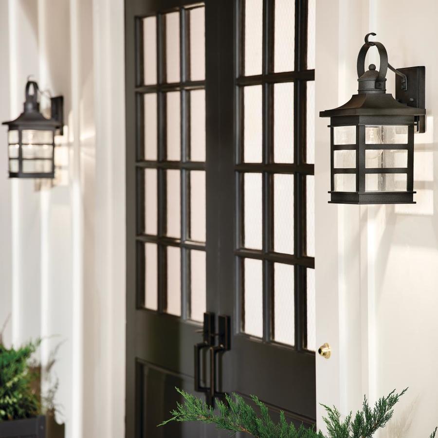 kichler grand ridge weathered zinc outdoor lighting collection