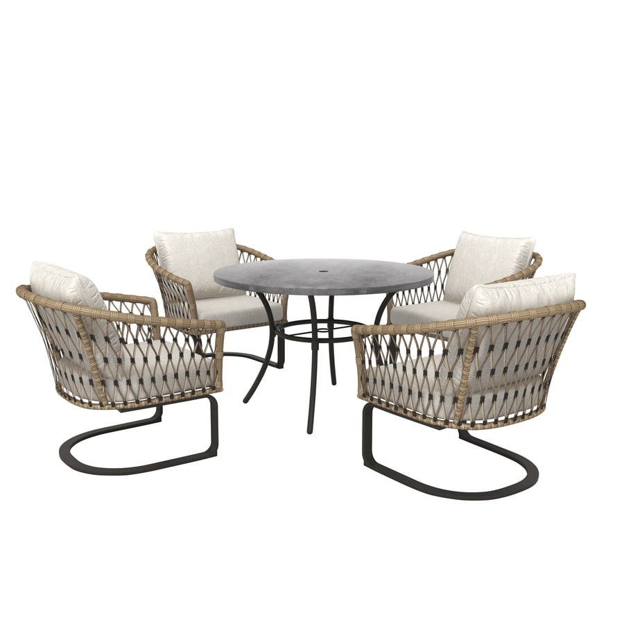 style selections avery station 5 piece patio dining set