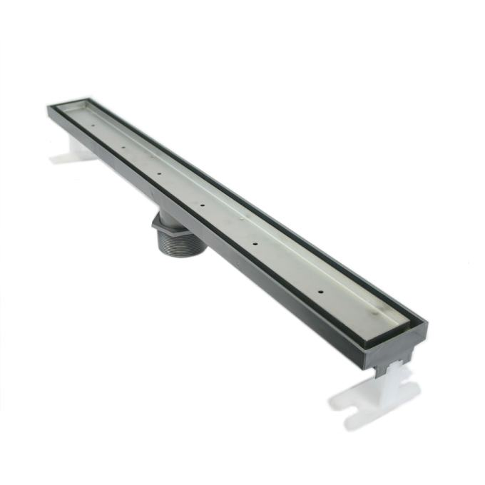Quartz By Aco 27 In L Stainless Steel Floor Drain In The Shower Drains Department At Lowes Com