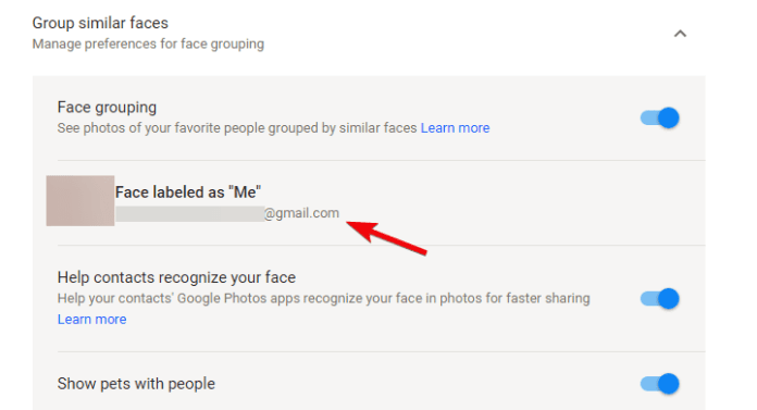 google photos how to add faces