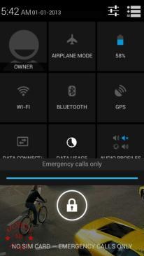 Lava Iris 458Q Lock screen (2)