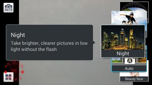 Photo modes