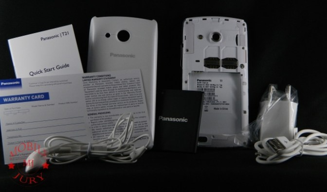 Panasonic T21 Box Contents
