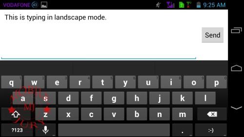 Landscape mode typing_Panasonic T21