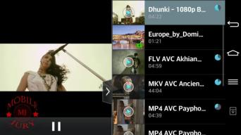 video player features_LG G2