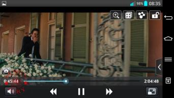 videoplayer layout_LG G2