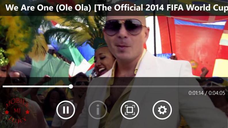 Nokia Lumia 830 Review Video Player