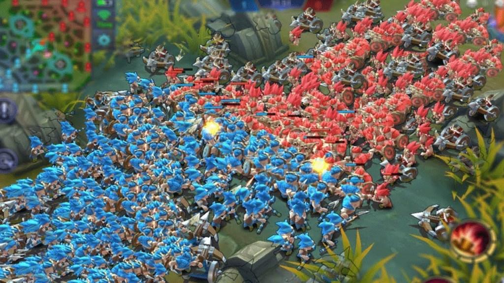 BLUE MINIONS vs RED MINIONS! | Mobile Legends