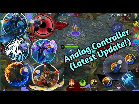 How to Change Your Analog Controller in Mobile Legends | 6 in 1 Analog | MLBB|