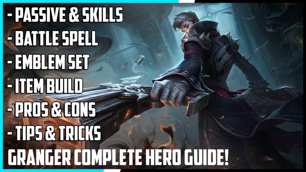 Granger Complete Hero Guide! Best Build, Spells, Skill Combo, Tips & Tricks | Mobile Legends