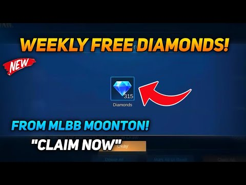 """600 FREE DIAMONDS PER WEEKEND """"CLAIM NOW"""" NEW EVENT 2021 MOBILE LEGENDS BANG BANG"""