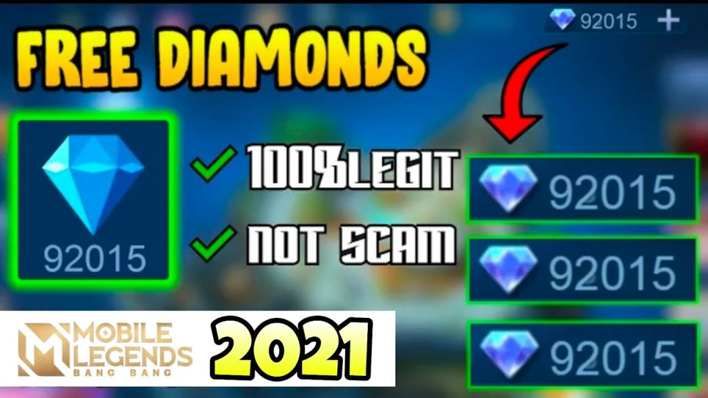 HOW I GET MANY DIAMONDS IN MOBILE LEGENDS WITHOUT USING MONEY | LEGIT 100% | #Mlbbmyhero #mcc8