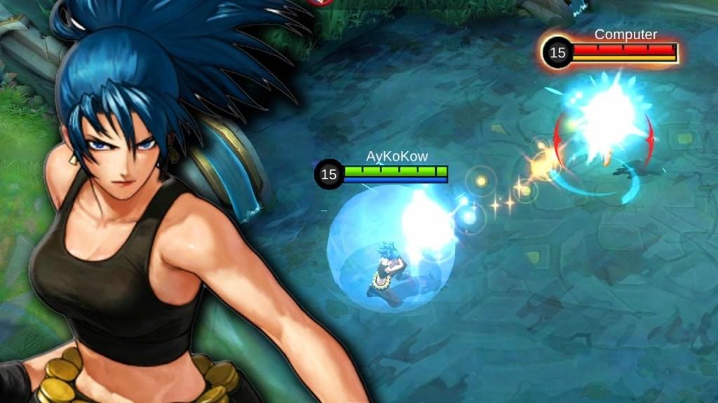 Karina Revamped Leona Skin New Skill Effects and Special Dialogue - Mobile Legends: Bang Bang