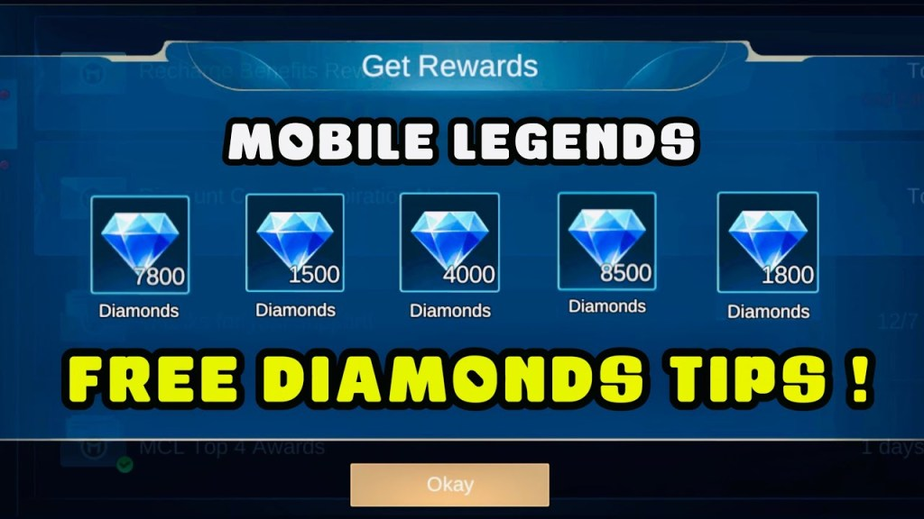 HOW TO GET FREE DIAMONDS IN MOBILE LEGENDS (2021) - MLBB
