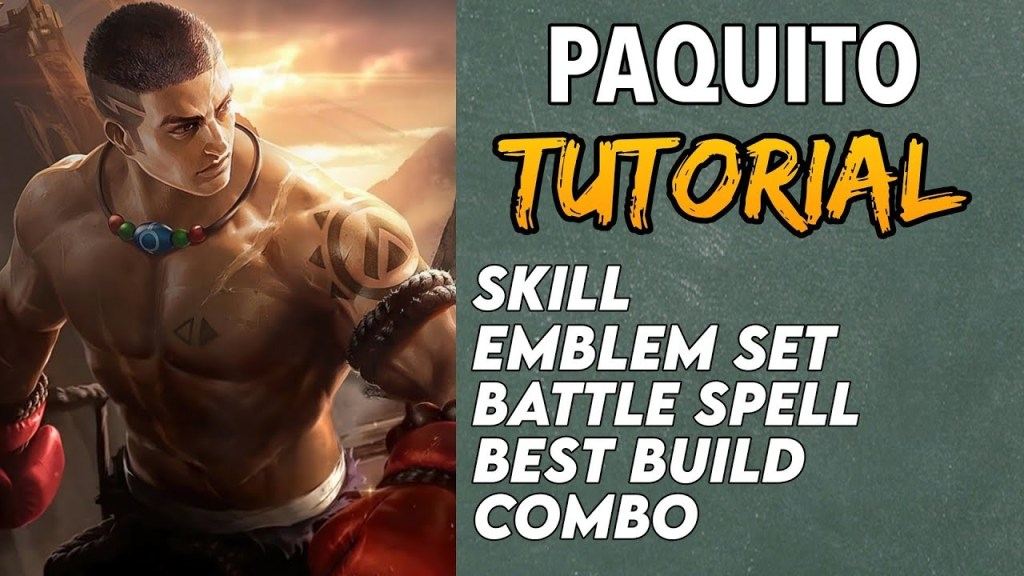 HOW TO USE PAQUITO FAST | Tutorial | Guide | Best Build | Combo | Paquito Gameplay - Mobile Legends