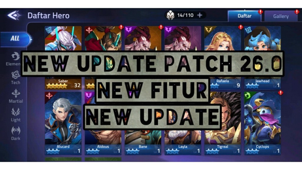 NEW UPDATE PATCH NOTE 26.0 - BRAWL ARENA - MOBILE LEGENDS ADVENTURE