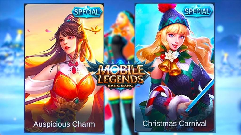 Odette | Auspicious Charm Special Skin VS Christmas Carnival Special Skin | Mobile Legends Bang Bang