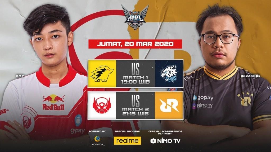 [Bahasa Indonesia Live] MPL Indonesia Season 5 Minggu ke-7 Hari ke-1