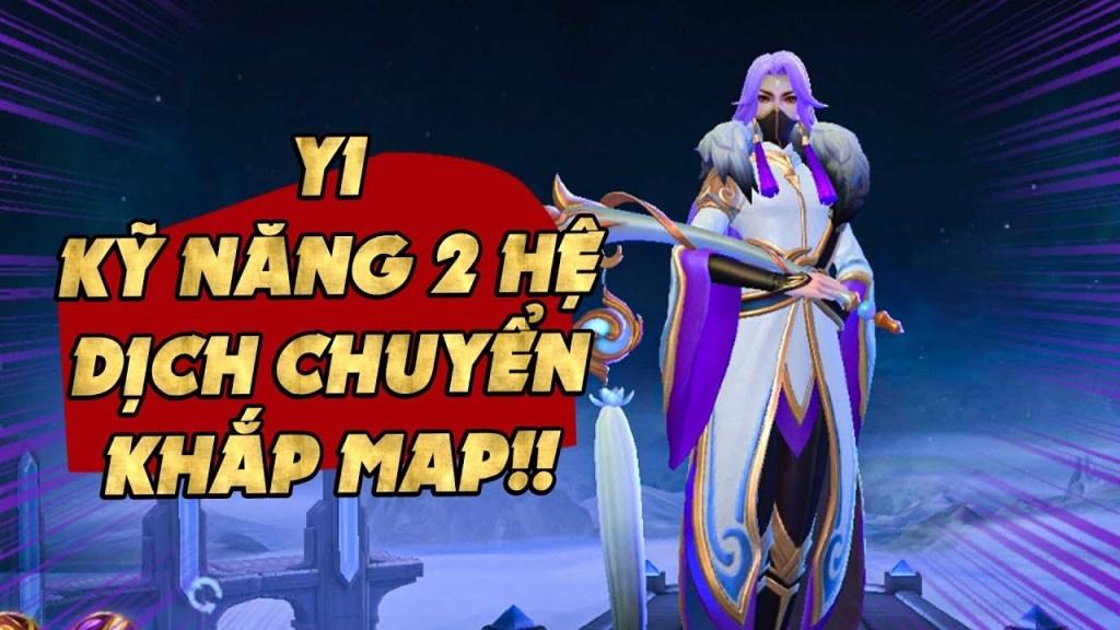 Mobile Legends | TIỂU ĐIỂM TƯỚNG YI: BỘ KỸ NĂNG 2 HỆ! DỊCH CHUYỂN TỔ ĐỘI NỬA BẢN ĐỒ! | Tốp Mỡ Gaming