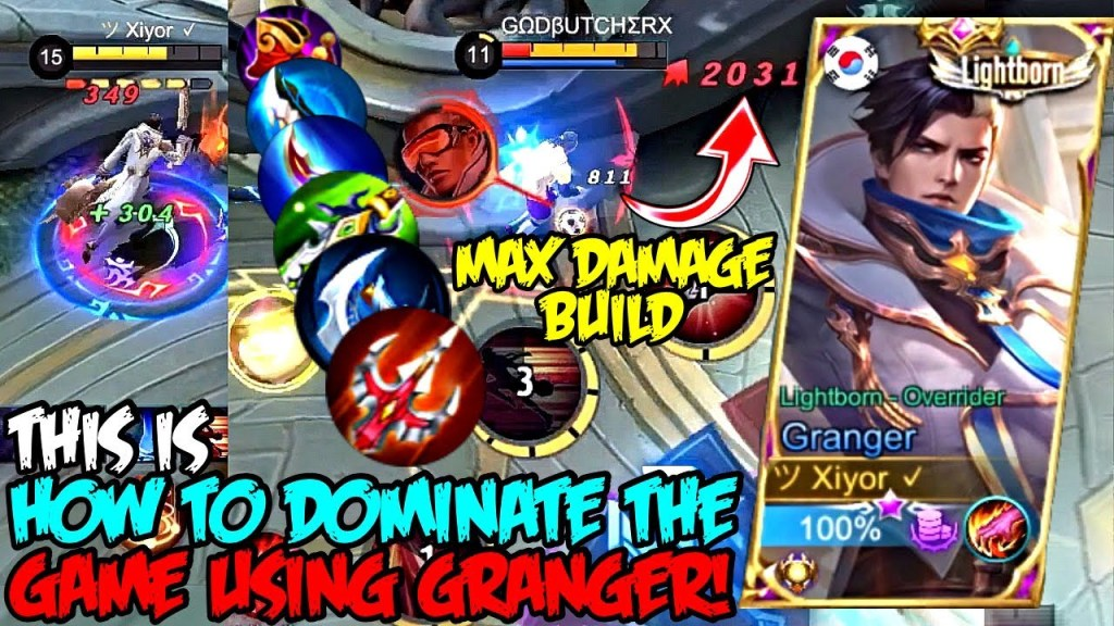 THIS IS HOW YOU DOMINATE THE GAME USING GRANGER!! | MOBILE LEGENDS