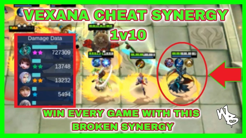 VEXANA CHEAT SYNERGY - BEST MAGIC CHESS STRATEGY - Mobile Legends Bang Bang