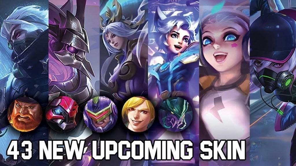 43 UPCOMING NEW SKIN MOBILE LEGENDS - Mobile Legends Bang Bang