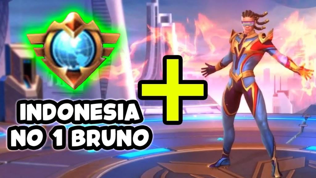 Indonesia No 1 Bruno + Skin Rp3,000,000 - Mobile Legends