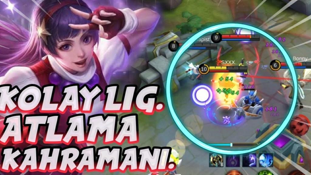 MAVI BUFF OLMADAN MID OYNADIK - GUINEVERE - Mobile Legends Bang Bang