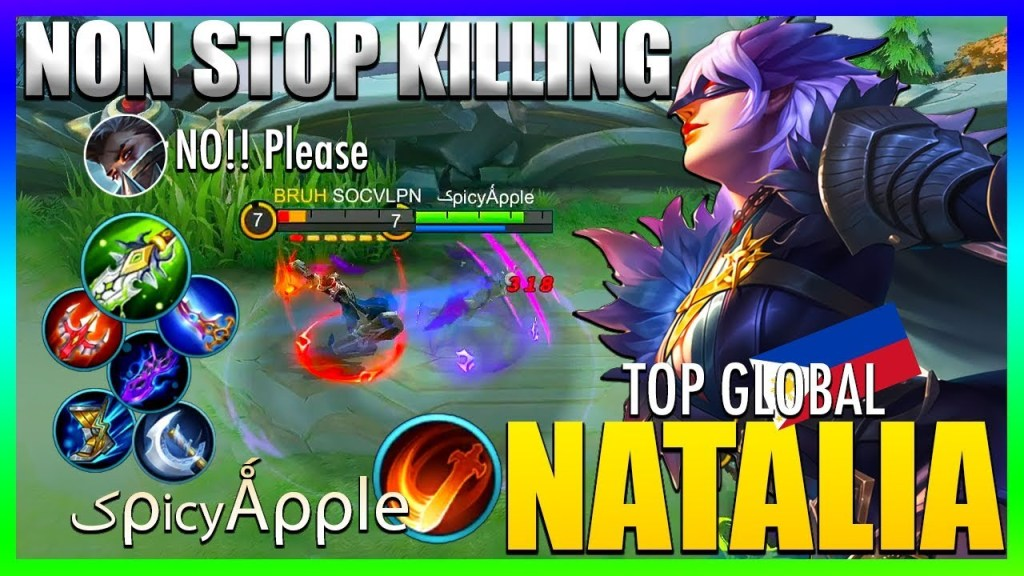 Natalia REVAMP is Stronger than Ever!! | Top Global Natalia by کρicyǺρρle ~ Mobile Legends