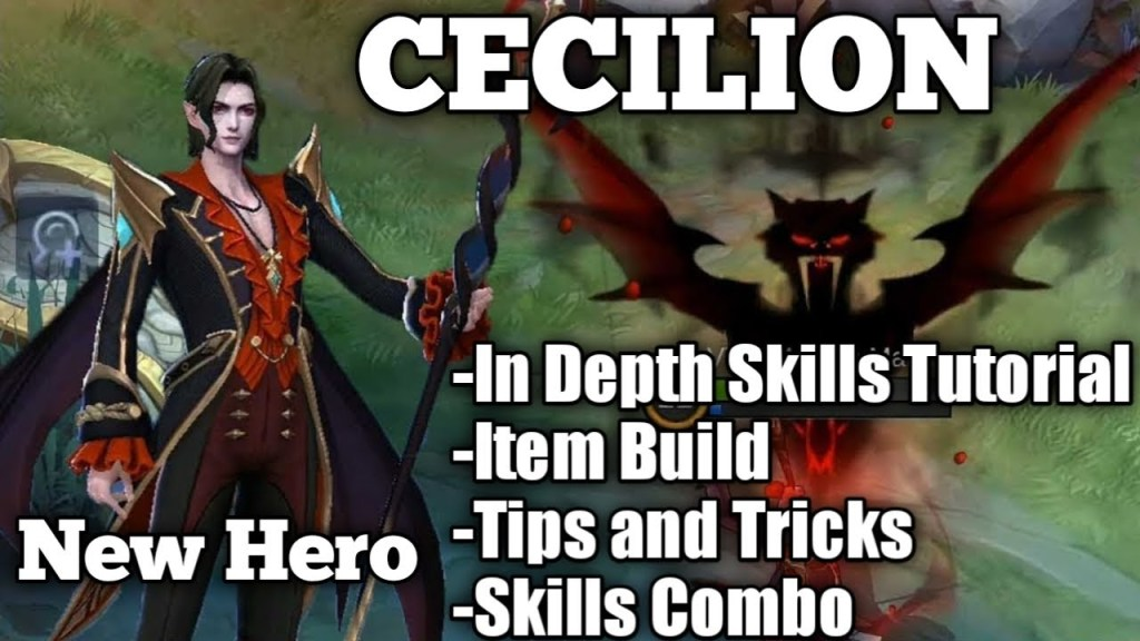 New Hero Cecilion - How To Use His Skills | In Depth Tutorials | Skills Explained || Mobile Legends