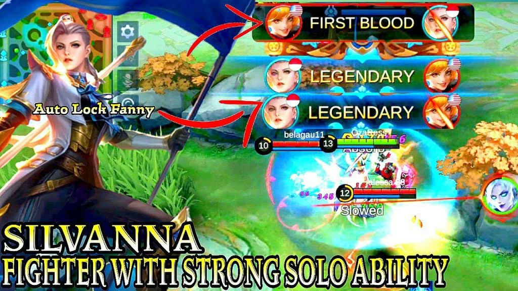 Silvanna Fighter With Strong Solo Ability - Mobile Legends Bang Bang